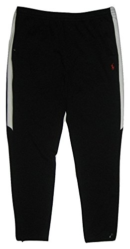 n's Tapered Track Pants (Polo Black, Medium) ()