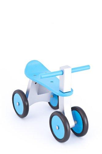 United Kids 13016-04 Rutscher / Rutschfahrzeug Ben aus Holz, blau