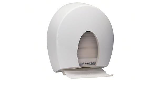 Kimberly-Clark Dispensador de Toallitas de Papel, Blanco, 41.50x17.00x33.00 cm: Amazon.es: Hogar