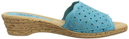 Spring Sheron Para Nubuck Stepsheron Mujer Turquesa turquoise rrEFw6B5q