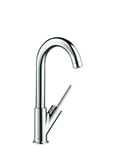 Hansgrohe 10826001 Starck Bar Kitchen Faucet, Chrome