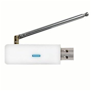 ゾックス パソコンでワンセグテレビとFMラジオを楽しめるUSB接続ワンセグチューナー ホワイト DS
