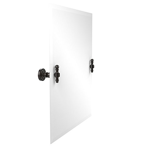 Allied Brass RD-92-ORB Frameless Rectangular Tilt Mirror with Beveled Edge, Oil Rubbed Bronze