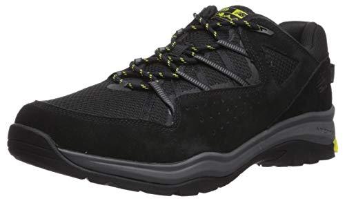 New Balance Men's 669v2 Cushioning Running Shoe , BLACK/SULPHUR YELLOW/GREY , 8.5 2E W US