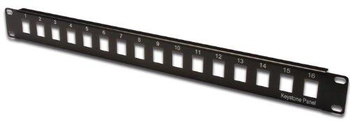 Digitus DN-91400 1U baie de branchements - baies de branchements (Noir, SPCC, 1U, 48,5 cm, 43 mm, 15 mm) 172309141 Modems et réseaux