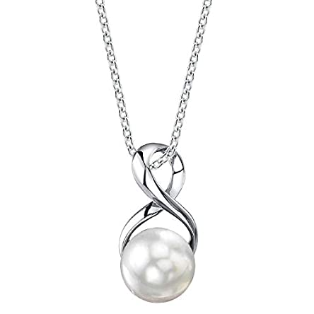 The Pearl Source Freshwater Cultured Pearl Pendant...