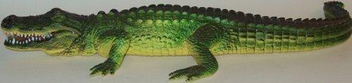 15.5 inch Rubber Alligator Reptile Replica -