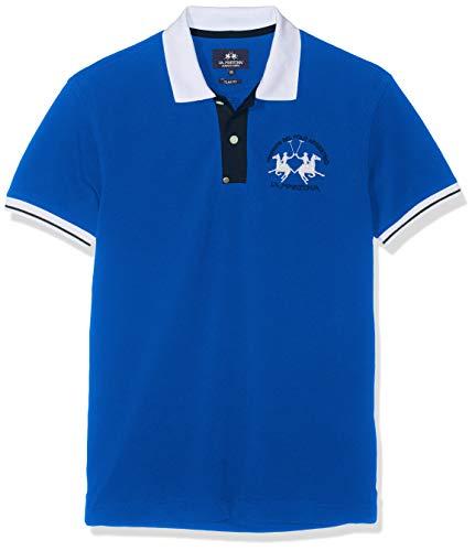 S Bleu Stretch Martina s 07165 Piquet Polo Blue victoria Homme Man La 67xnF