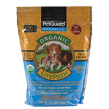 Petguard Organic Life Path Dog Food 2.2 lb (Pack of 6)