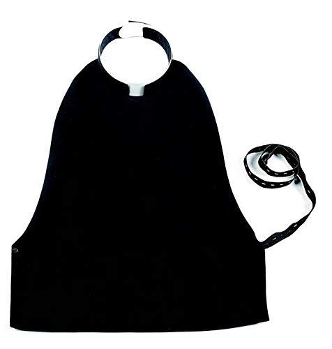 Italian Clergy Shirtfron (18) Black (Cotton Shirt Collar Italian Dress)