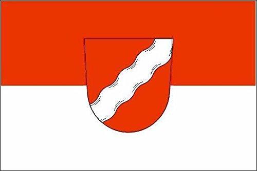U24 Drapeau du Krumbach (Bavière) haute qualité pour bateau drapeau 150 x 250 cm