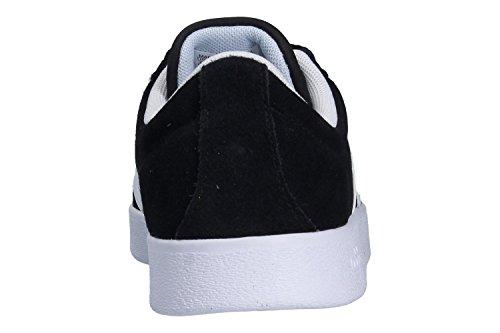 adidas VL Court 2.0, Zapatillas de Deporte Para Mujer Negro (Negbas/Ftwbla/Aeroaz 000)