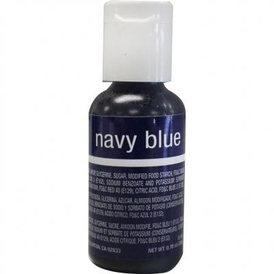 Chefmaster Liqua-Gel Food Color 0.75 Ounce - Navy Blue