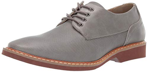 Unlisted by Kenneth Cole Men's Jupiter Oxford Shoe, Grey, 11 M ()
