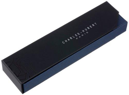 Charles-Hubert, Paris 3547-W Chrome Finish Pocket Watch Chain