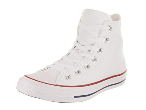 Converse Women's Chuck Taylor All Star Hi Optical White Basketball Shoe 9.5 Women US by Converse
