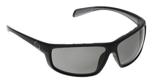 Native Eyewear Bigfork Polarized Sunglasses, Gray, Matte Black by Native