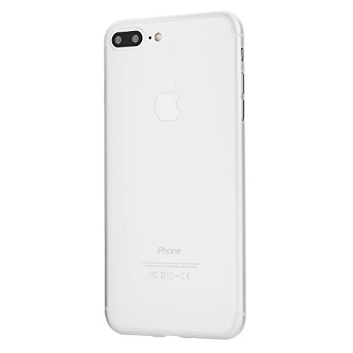 totallee iPhone 7 Plus Case, Thinnest Cover Premium Ultra Thin Light Slim Minimal Anti-Scratch Protective - for Apple iPhone 7 Plus The Scarf (Frosted Clear)
