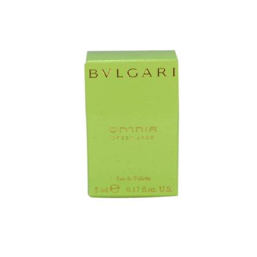 BVLGARI Omnia Green Jade Eau De Toilettes Mini, 0.17 (Bvlgari Omnia Green)