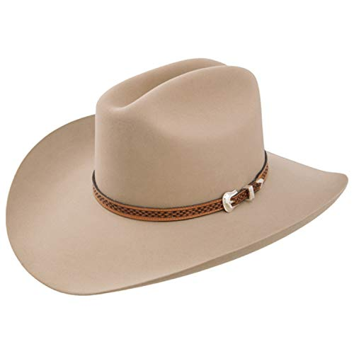 Stetson Marshall - 4x Wool Cowboy Hat (7 5/8, Ranch Tan)