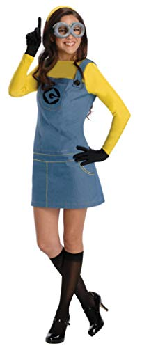 Character Couple Costumes (Rubie's Women's Despicable Me 2 Minion Costume with Accessories, Multicolor,)