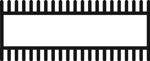 Grobet Swiss Pattern File Pillar Regular 8 Inch Cut 4