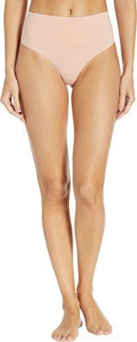 SPANX Women's Everyday Shaping Panties Thong Vintage Rose Large
