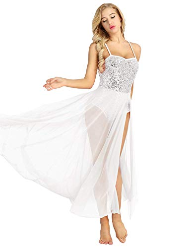 Dress Spalline Cocktail Di Marca Ballo 77 Dresses Da Mode Paillettes Bianca Con Senza Party Maniche Bolawoo Prom Vintage Vestito Bellissimo Donna Balletto 8wNn0kXPZO