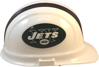 Texas American Safety Company NFL New York Jets Hard Hats with Ratchet Suspension 2