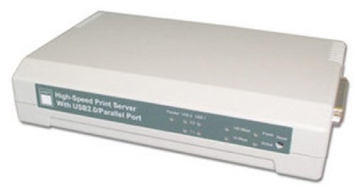 LINDY Print Server 10/100Base-TX 2 USB 2.0 with 1 Parallel (42392) by LINDY