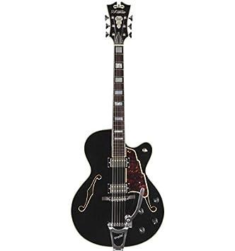 De Angélico Excel 175 negra ex175blk - Guitarra eléctrica tirador ...