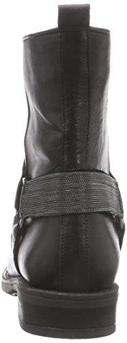 Inuovo BARRYMORE - Botas de cuero para mujer negro - Schwarz (BLACK-NICKEL ACC)