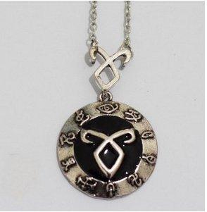 The Mortal Instruments City of Bones Inspired Angelic Power Rune Symbols Necklace
