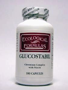 Ecological Formulas - Glucostabil 180 (Pectin 180 Caps)