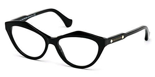BALENCIAGA Eyeglasses BA5042 001 Shiny Black
