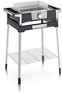 Severin - pg8117 - Barbecue 'lectrique sur Pieds 3000w Noir/INOX Boost s