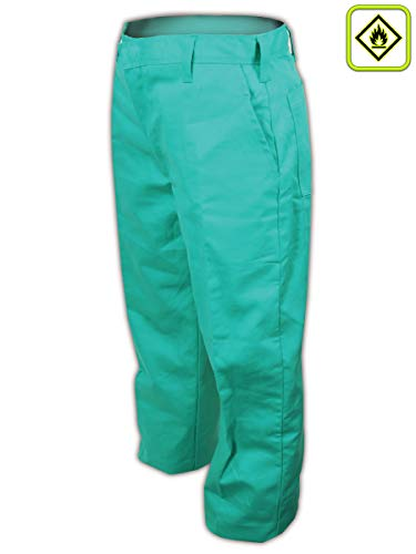 Magid Glove & Safety 1531RF-44U A.R.C. 9 oz. NFPA 70E Compliant Arc-Rated Pants, Green (Best Ar 10 Caliber)