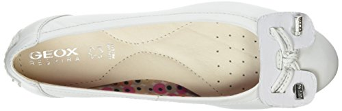 White Charlene Geox Flats Ballet D White Women's xg0w1qXwv