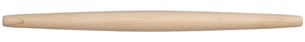 Fletchers' Mill French Rolling Pin, Maple - 20 inch, Perfect Tool for Rolling Thin Pie and Pastry Crust, Professional French Rolling Pin, Best Pastry Rolling Pin MADE IN U.S.A. by Fletchers Mill