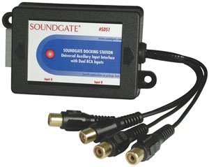 SOUNDGATE SDSGM2 Auxiliary Interface for 2003-2005 GM With Factory XM Satellite Radio by Soundgate