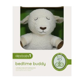 DexBaby Womb Sounds Lamb | Bedtime Buddy Sheep Soothing Sound Machine | Auto Shut-off