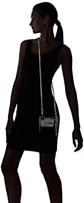Buxton Rfid Cell Phone Crossbody with Wristlet, Black