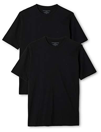 Noir Schwarz 80 2 Homme Manches T shirt 1 Casamoda xwnRY1Tqx