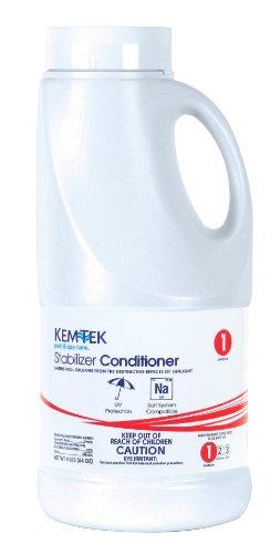 Chlorine Stabilizer (Kem-Tek 024-6 Chlorine Stabilizer Pool and Spa Chemicals, 4 Pound)