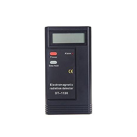 Digital LCD Detector de radiación electromagnética EMF medidor prueba Tester dosímetro: Amazon.es: Iluminación