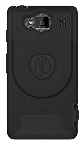 TRIDENT Aegis Case for Motorola Droid Razr Maxx HD - 1 Pack - Retail Packaging - Black (Droid Razr Otterbox Case)
