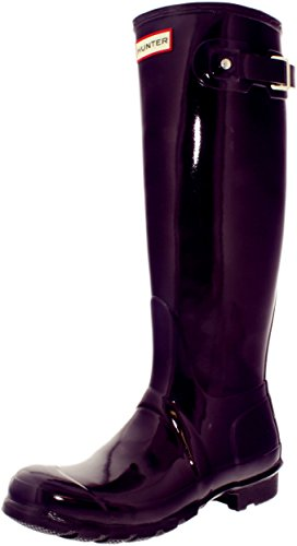 Gloss Urchin Tall Original Hunter Rain Boot Women's Purple BqTXA7Zxzw