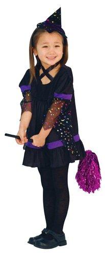 Purple Twinkle Witch Kids Costume girl 120cm-140cm 802240M