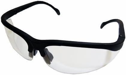 コーナンオリジナル セーフティグラス 透明・黒縁/黒 透明黒縁黒LFX-30-140