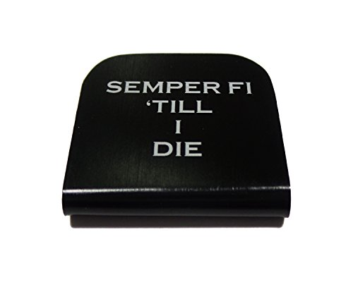 Semper Fi Till I Die USMC EGA Morale Tag for Your Patch Hat! Clips Right On!
